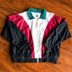 Vintage 80s Jacobson Windbreaker Jacket Zip Up